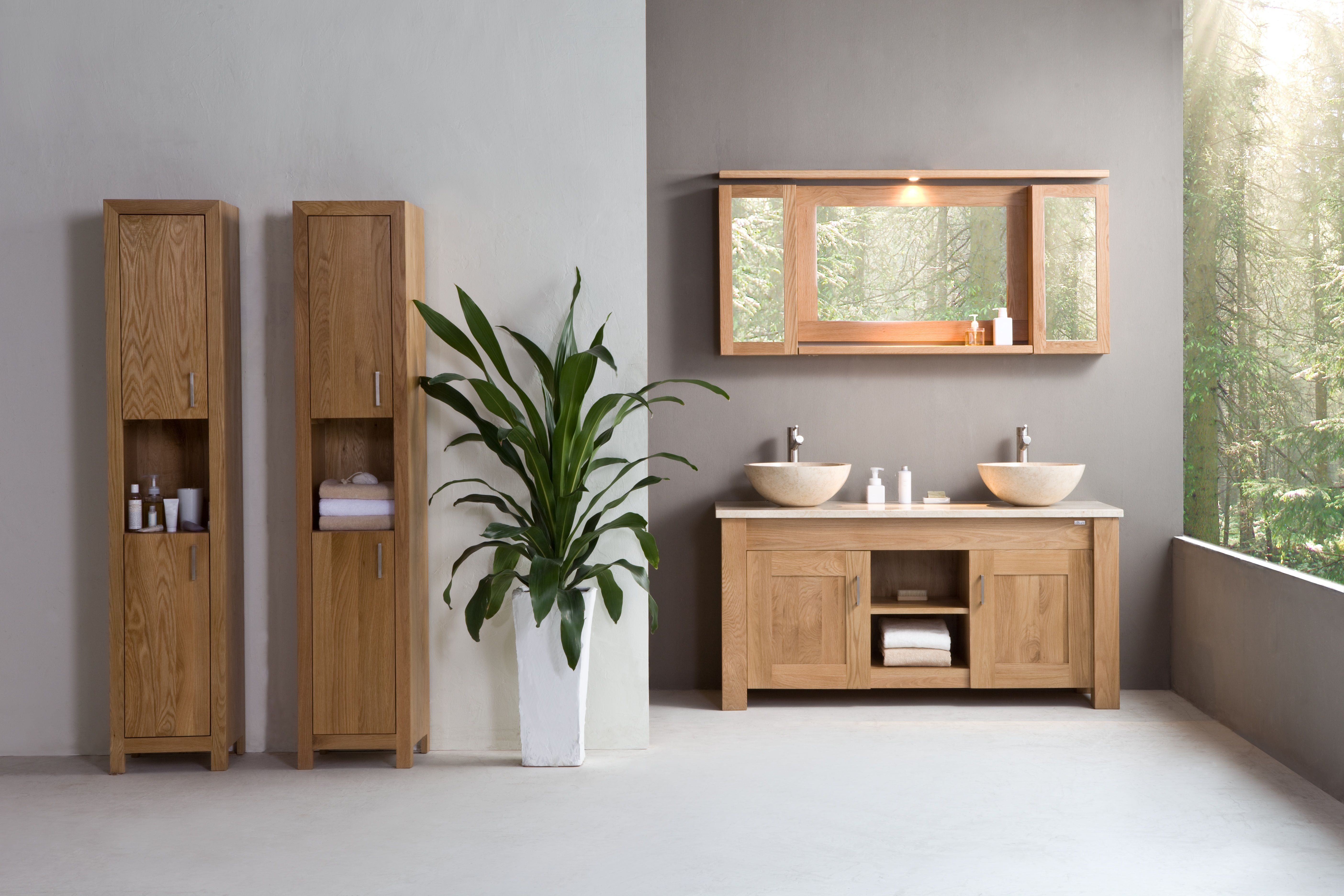 stonearth  oak finesse cabinet solid wood washstands