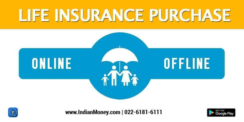 Life Insurance Purchase - Online vs Offline | Online term ...