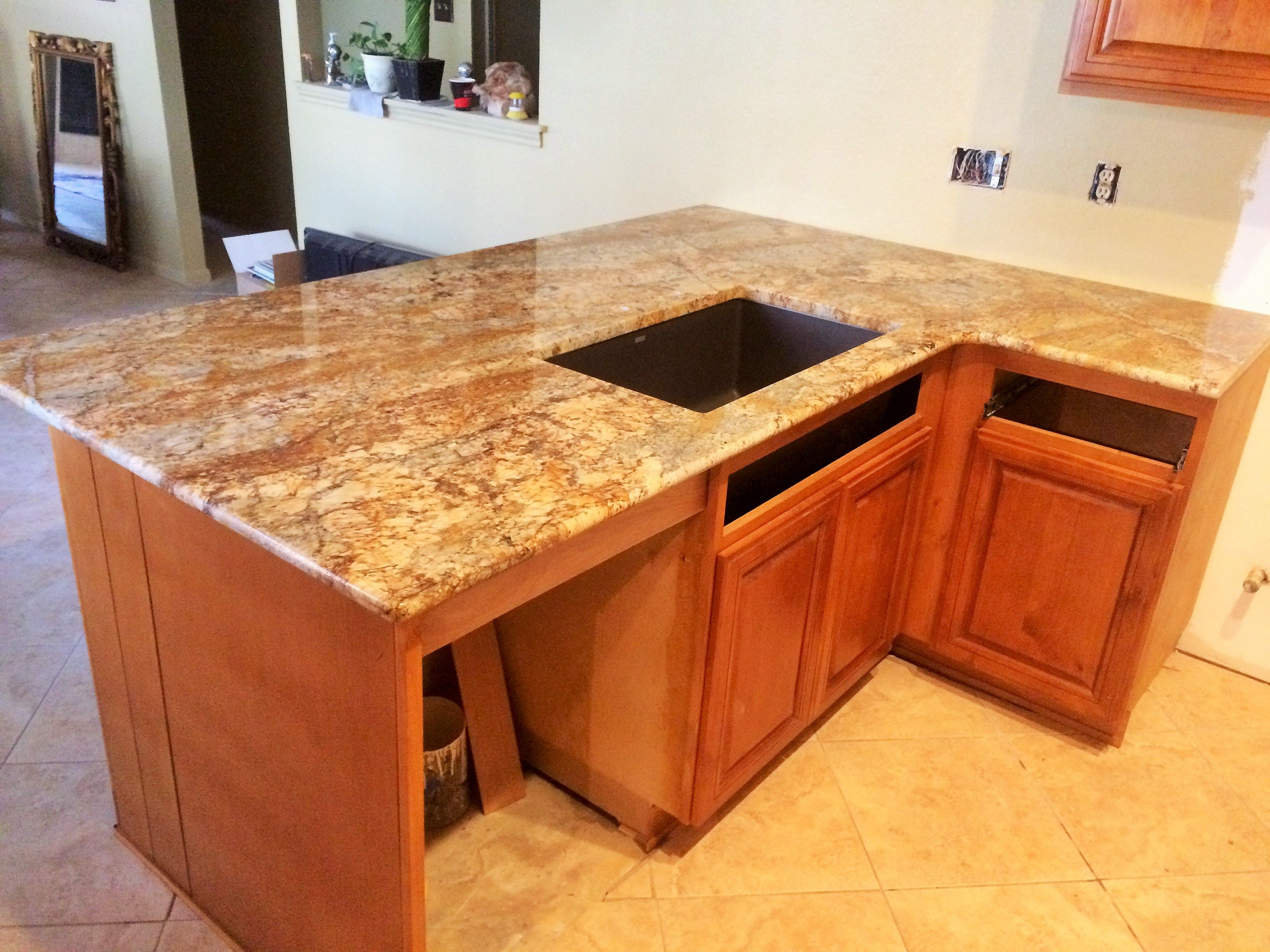 Geriba Gold Granite   Home Decor   Kitchen Remodel   Countertops