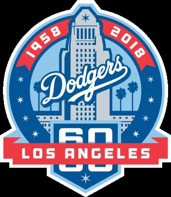 Dodgers Unveil 60th Anniversary Logo Dodgers Los Angeles Dodgers Dodgers Baseball