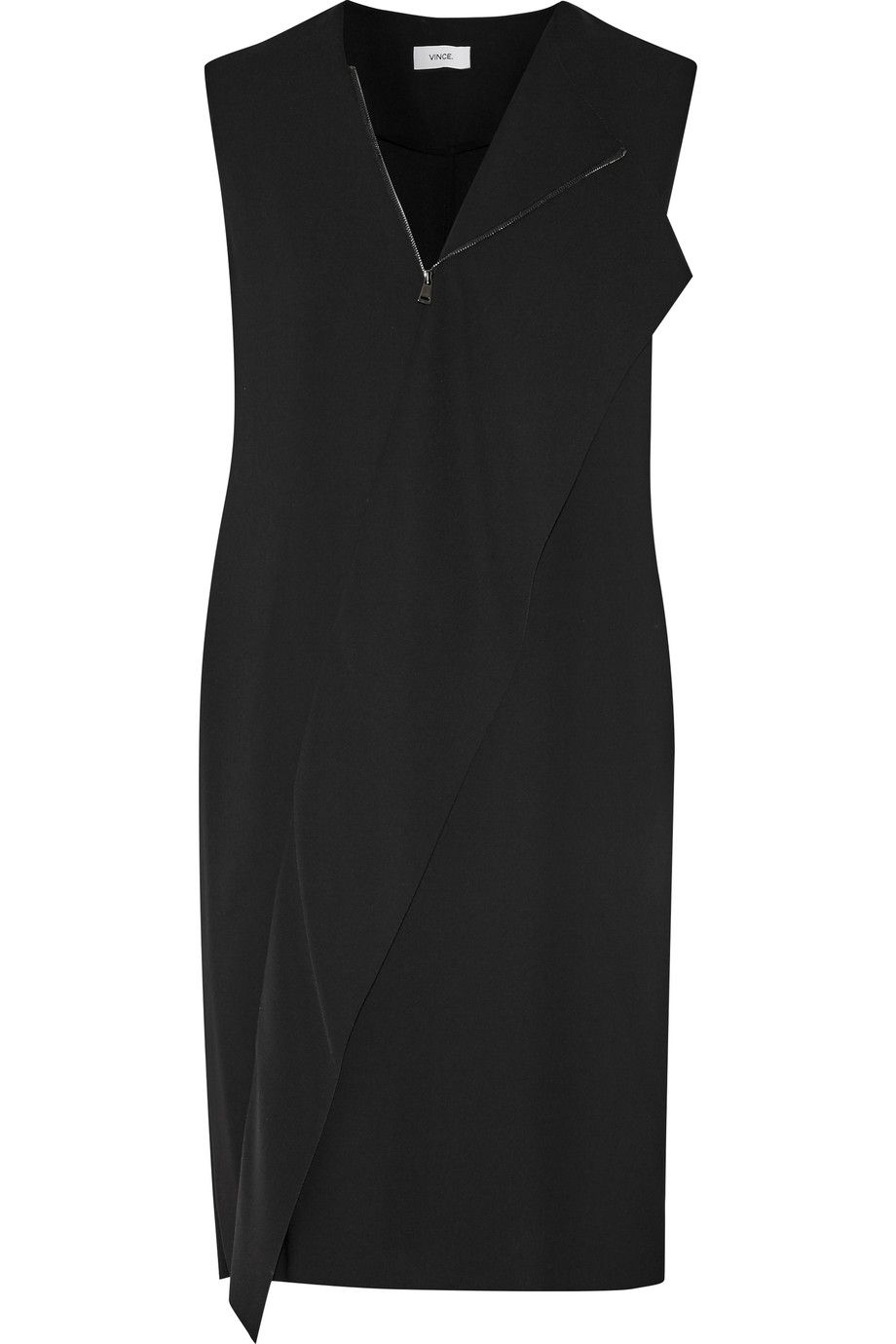 Draped Crepe Mini Dress Dresses Designer Clothes Sale Discount Designer Clothes
