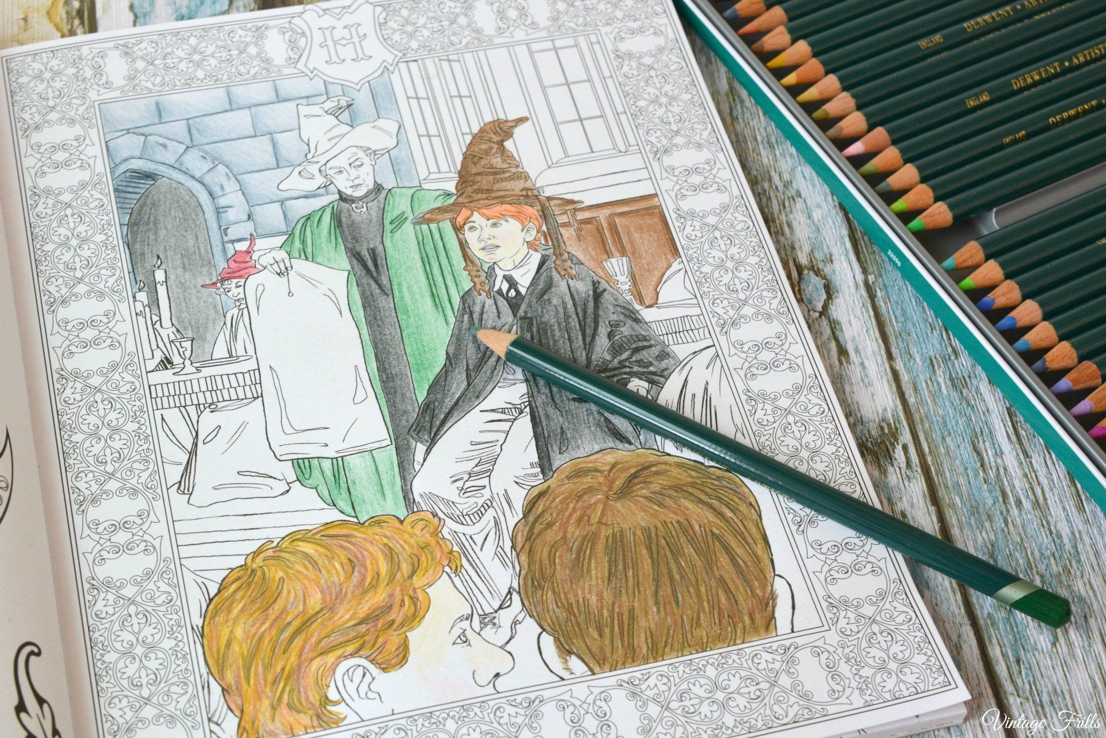Harry Potter Coloring Book Inspirational Reddit I Finished Coloring My Harry Potter Color Harry Potter Coloring Book Harry Potter Coloring Pages Coloring Books