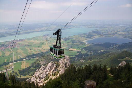 Wandern Am Tegelberg Bergstation Pollatschlucht Tal Italien Reisen Bergstation Ausflug
