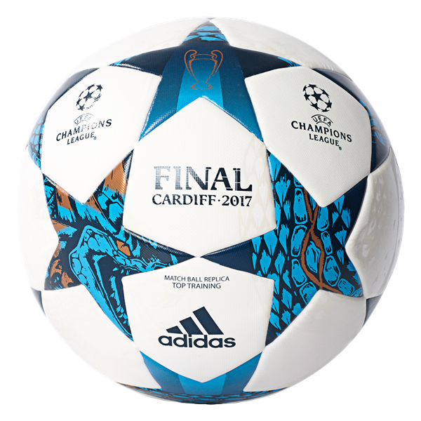 f678b3f7ed7e3 adidas Finale Top Training UCL ball (white/mystery blue) -  WorldSoccershop.com | WORLDSOCCERSHOP.COM #Soccer #Ball #Adidas