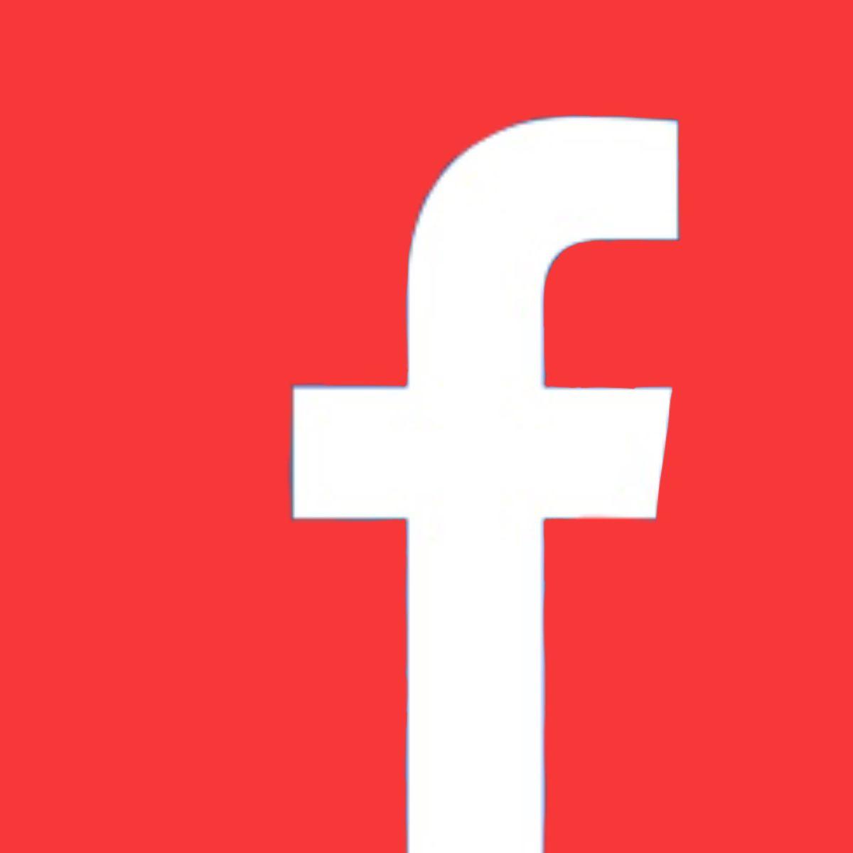 Facebook Red Icon App Icon Icon App