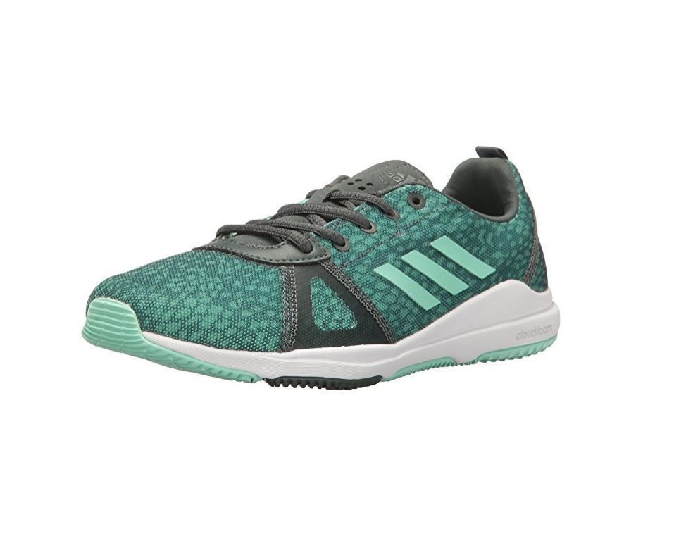 ADIDAS ARIANNA CLOUDFOAM TRAINERS NEW WOMEN'S SIZE 7 GREEN/IVY ...