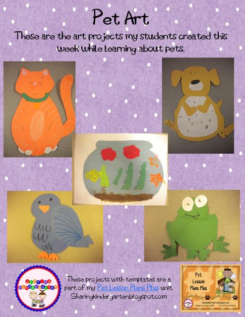 Pet Week Art Projects