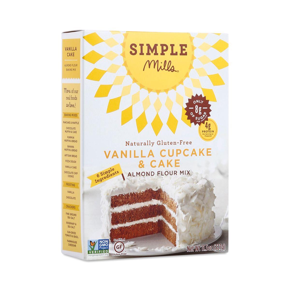 Vanilla Cake Almond Flour Mix Vanilla cake mixes, Almond