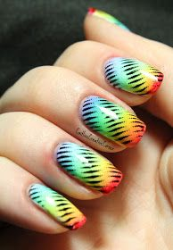Caitlin'sCreativeCorner: Day 16: Creative Lacquer Challenge: Rainbow