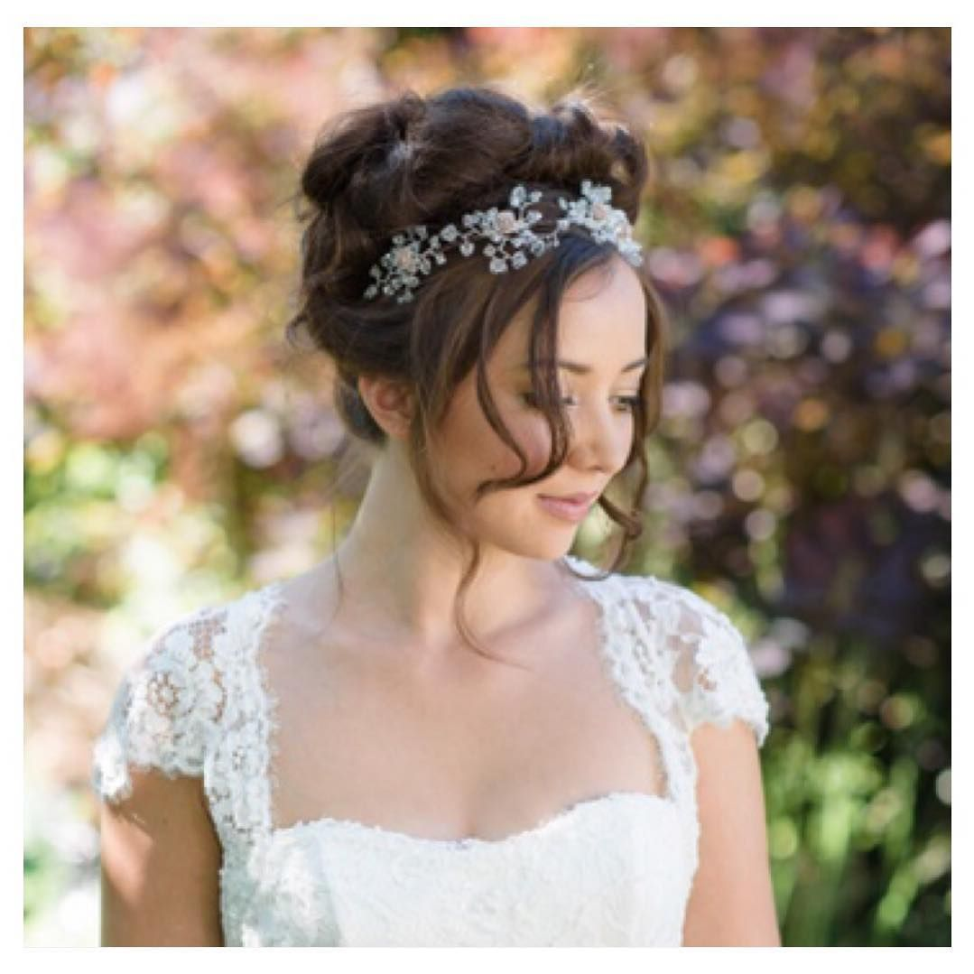 riot hairdressing you saved to brunette wedding hair-up
