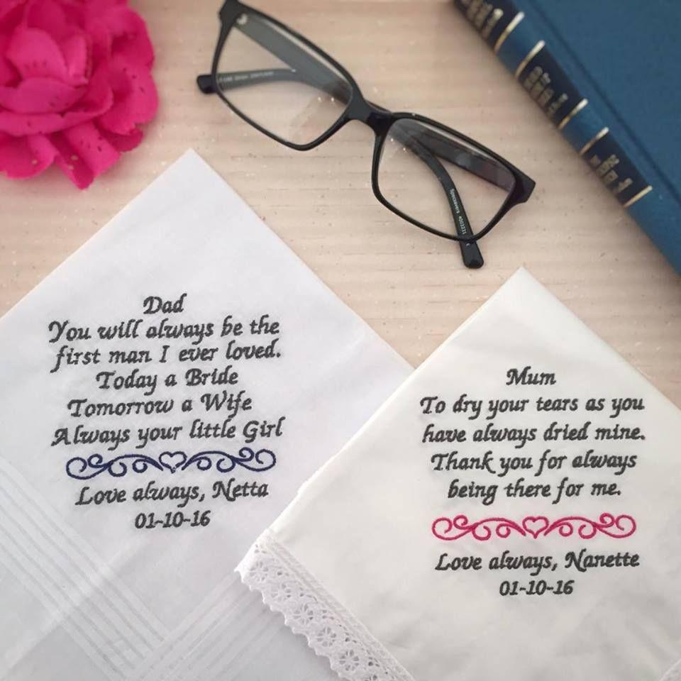 Personalised Embroidered Handkerchief, Custom Wedding Handkerchief, Custom  Embroidered Handkerchiefs and Bridal Hankies Australia,