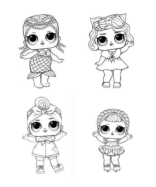 L O L Surprise Coloring Book Over 150 Jumbo Coloring Pages لول سبرايز كتاب تلو Cute Coloring Pages Unicorn Coloring Pages Disney Princess Coloring Pages