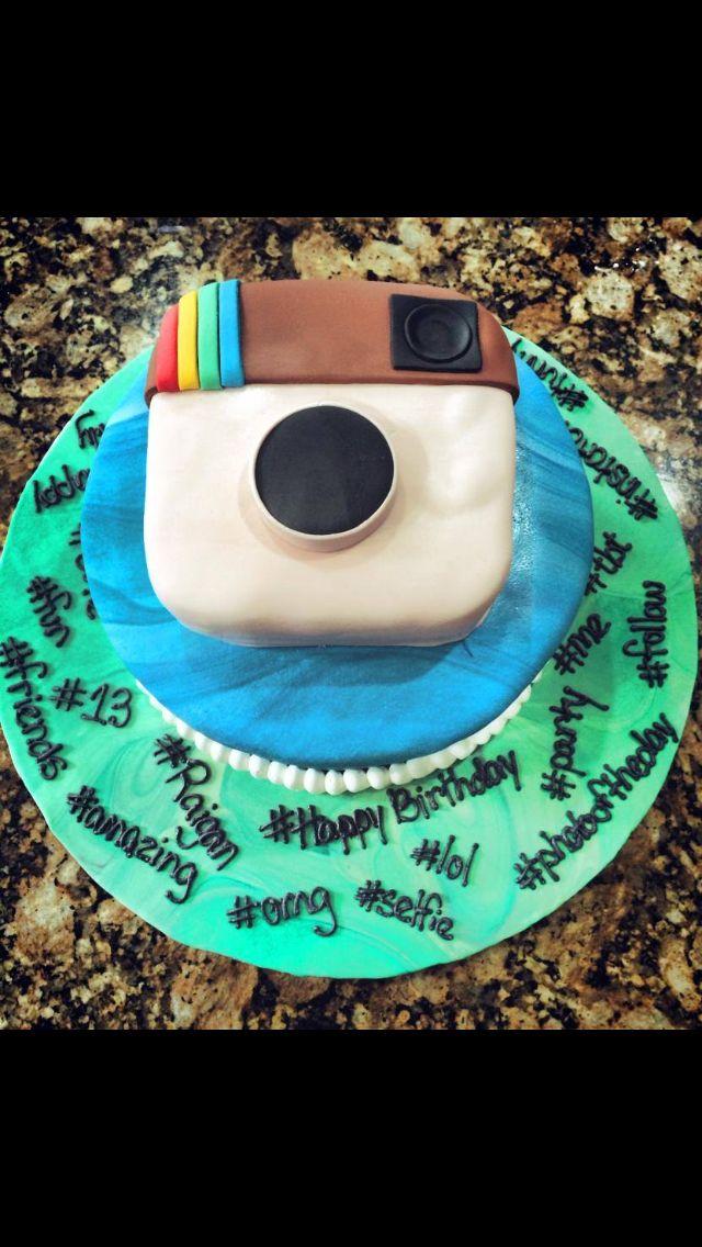 Instagram Cake Instagram Cake Instagram Party Birthday