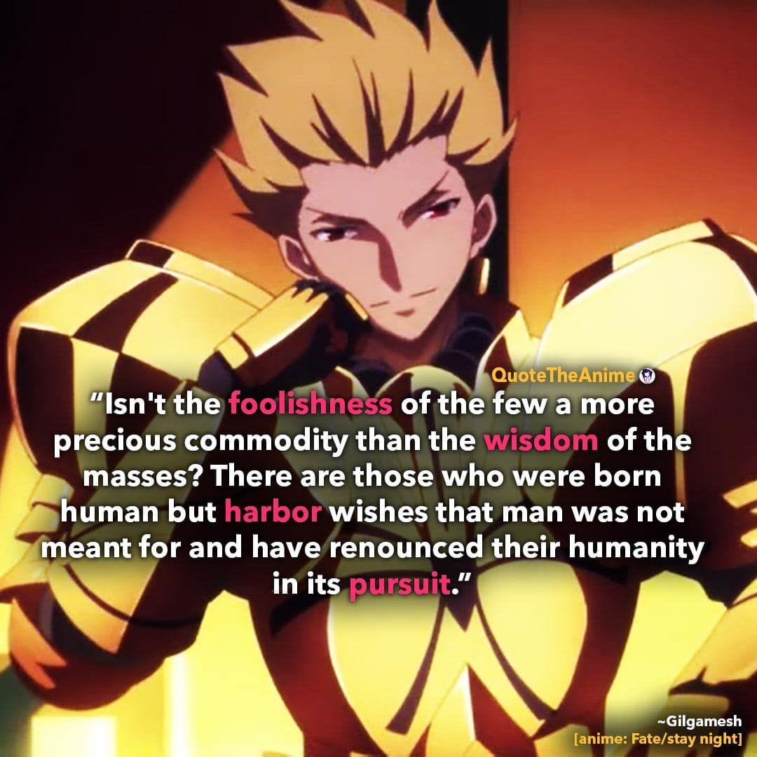 Gilgamesh Quotes Fate