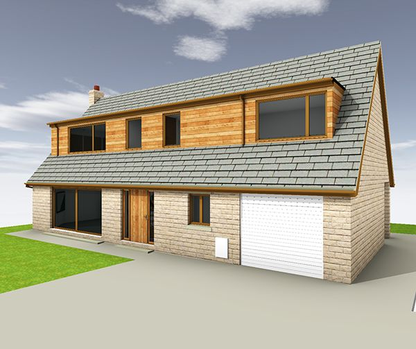 Bungalow Extension, Internal And External Alterations