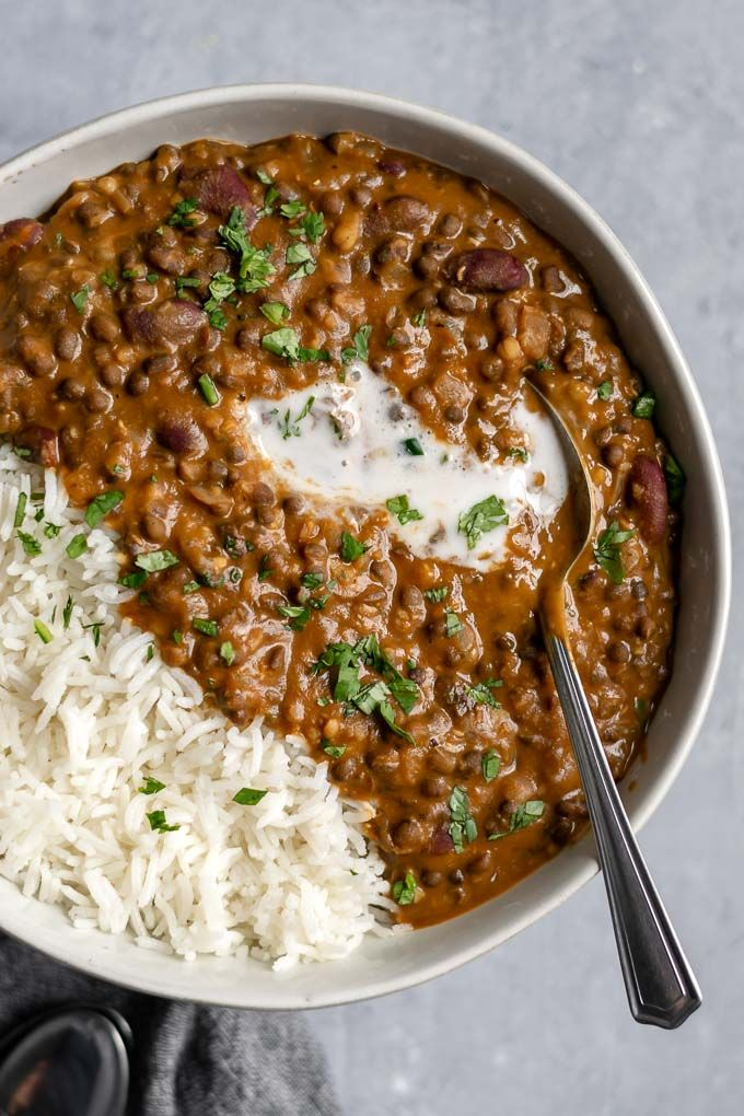 Vegan Dal Makhani #indianfood