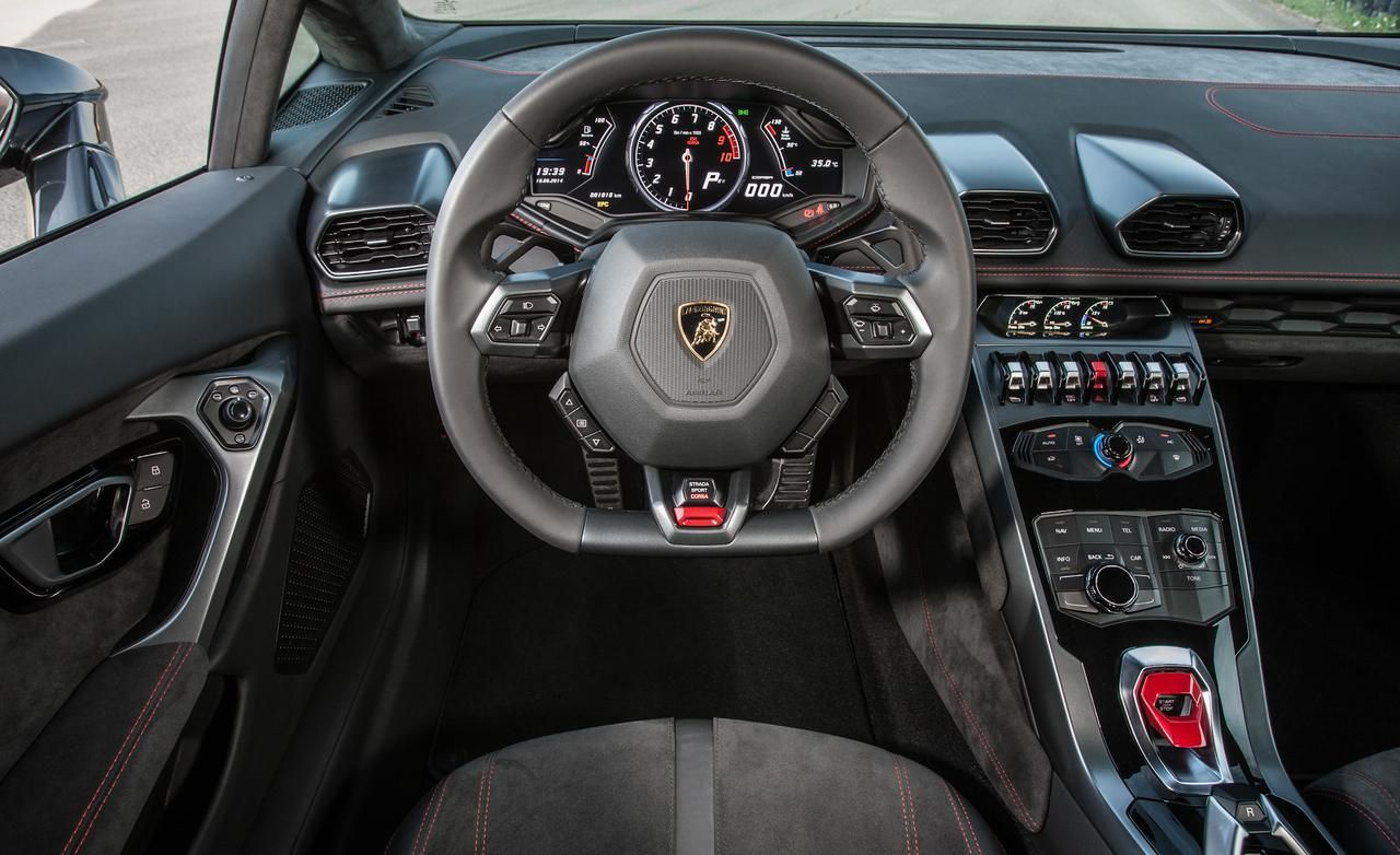 Lamborghini Huracan Interior 2017 Huracán Lp610 4 Photo