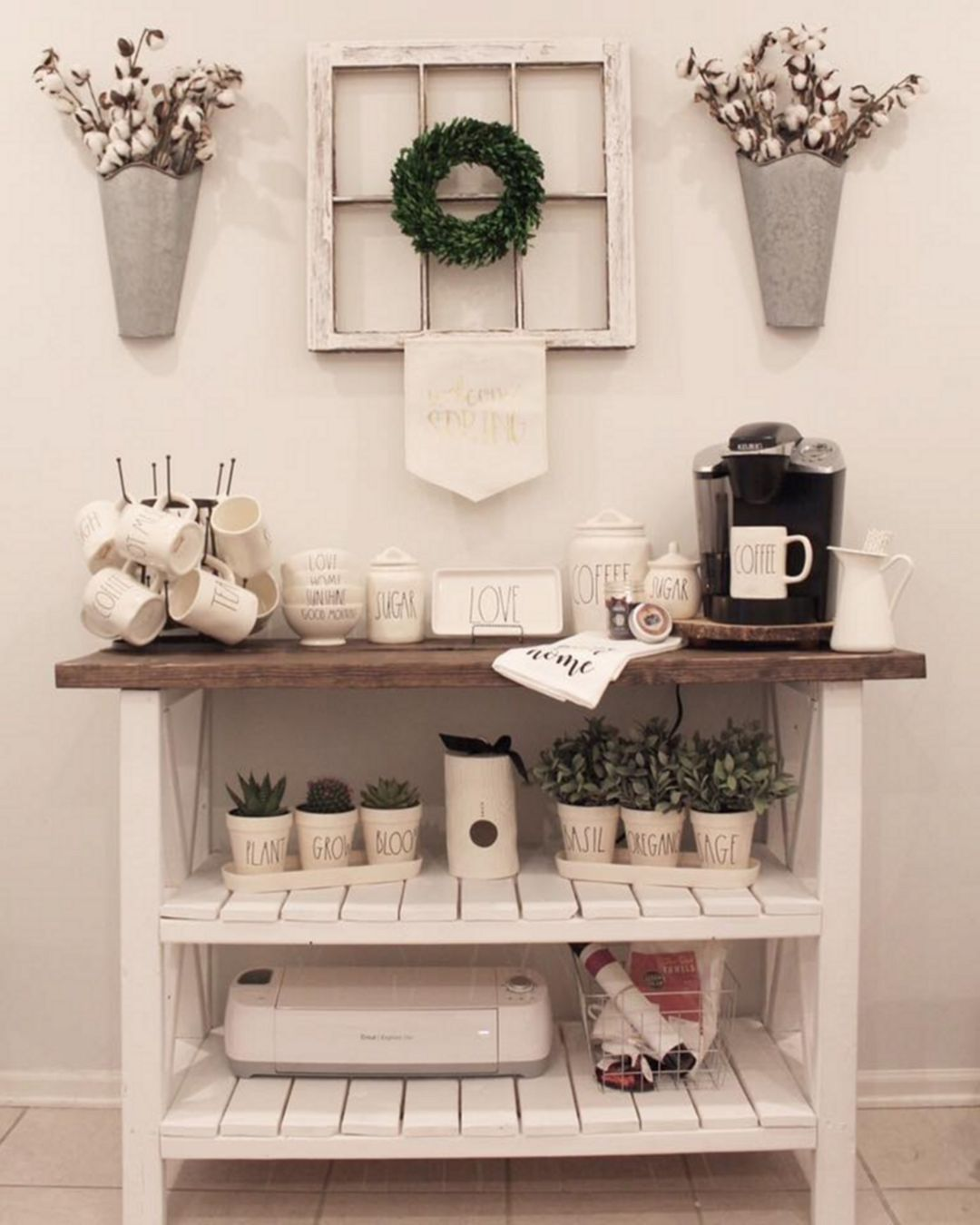 75+ Elegant Home Coffee Bar Design And Decor Ideas You Must Have In ...