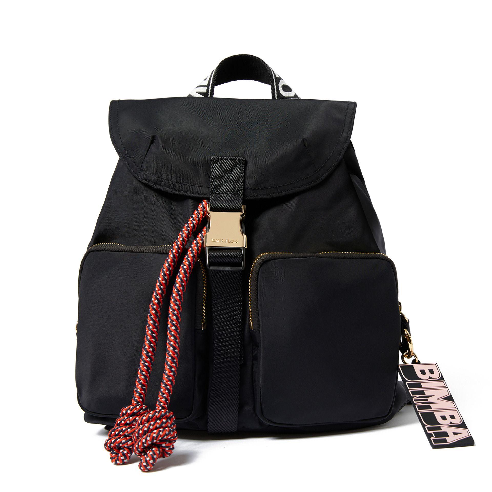 c86a46774 Mochila mediana negra | Complementos | Black backpack, Leather ...