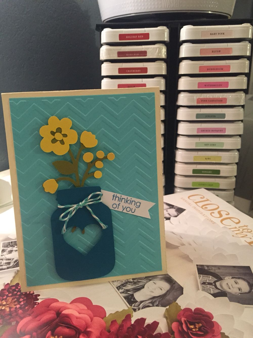 I Made the card using the CTMH Artistry cartridge www.mycraftystyle.ctmh.com