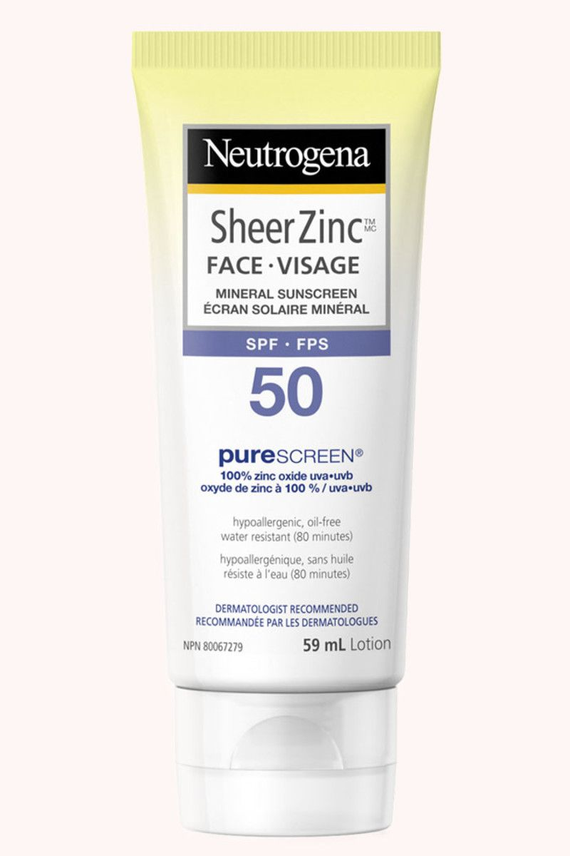 Editors Picks The 18 Best Zinc Oxide Sunscreens For Your Face Sunscreen Spf50 Neutrogena Sheer Spf 50