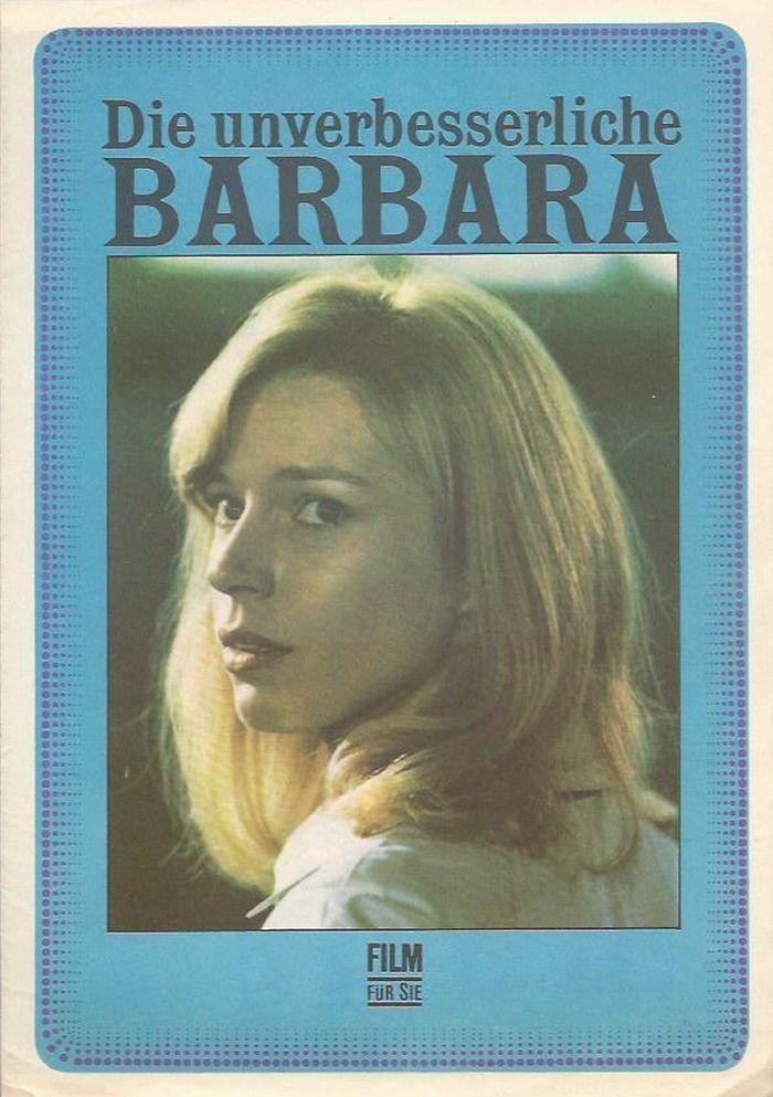 "Ostfilm - Die unverbesserliche Barbara"" (1977) Directed by Lothar Warneke East Germany"