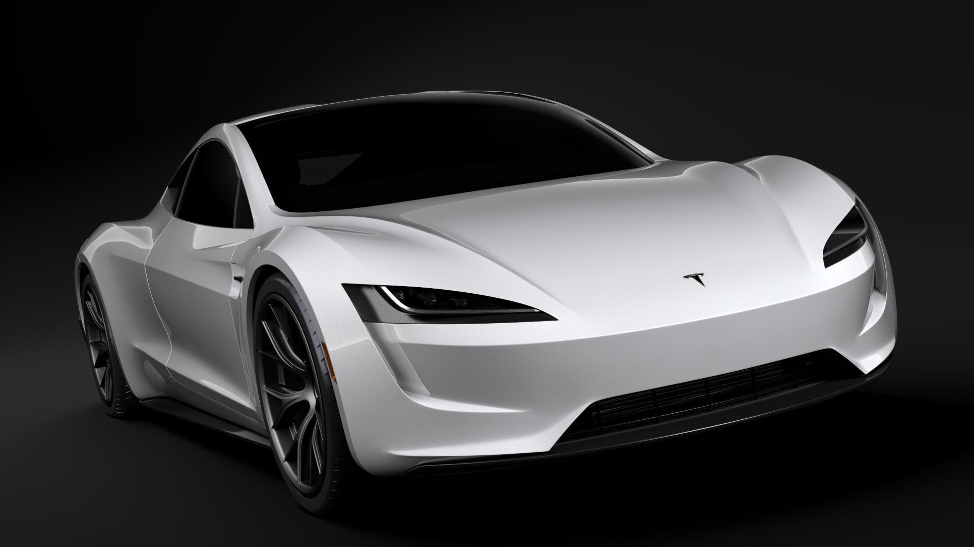 Tesla Coupe 2020 3D Model AD ,CoupeTeslaModel Tesla