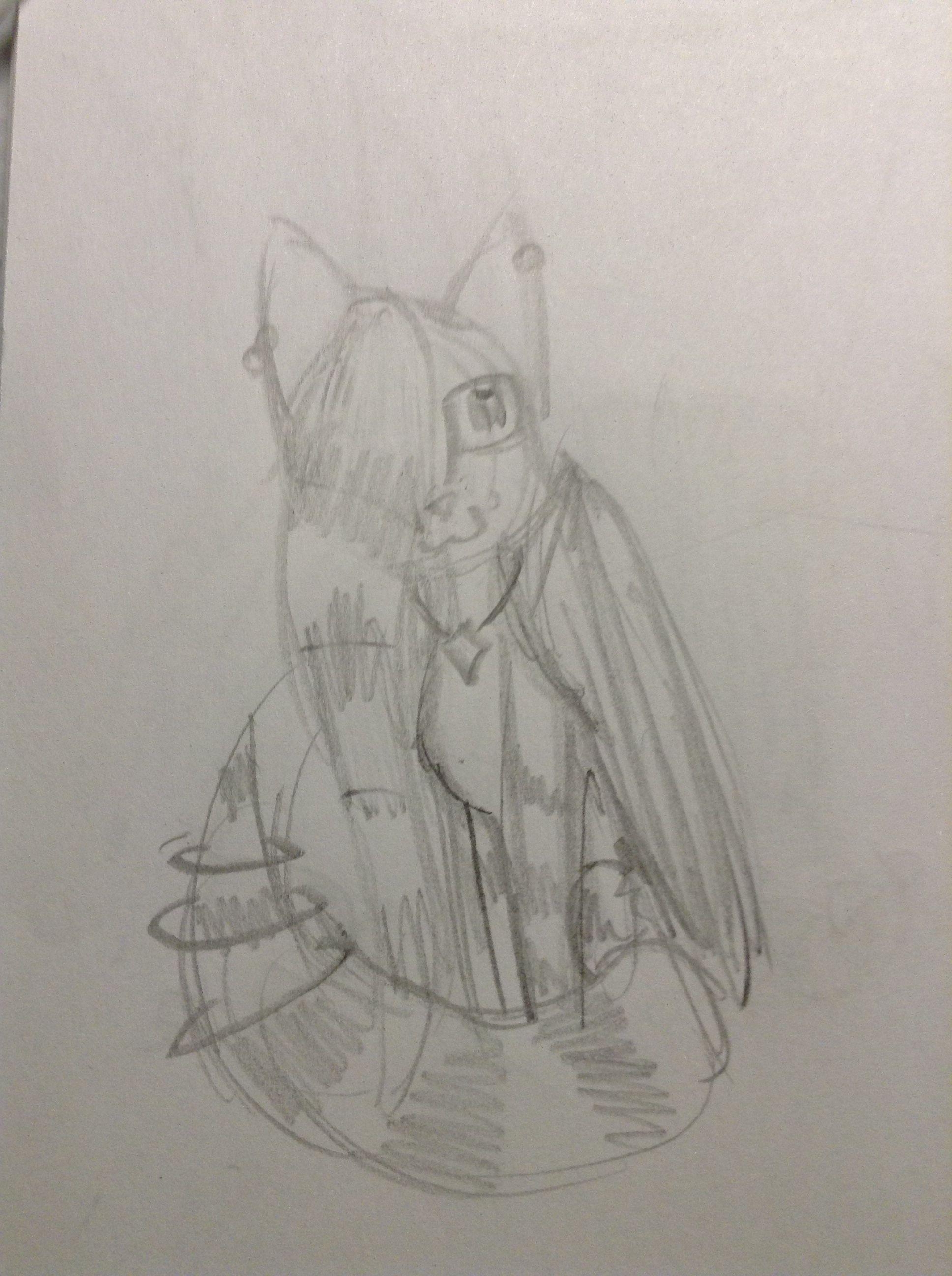 Stargaze for @swiftclan4eva . Drawn by me, @pusheen_the_cat