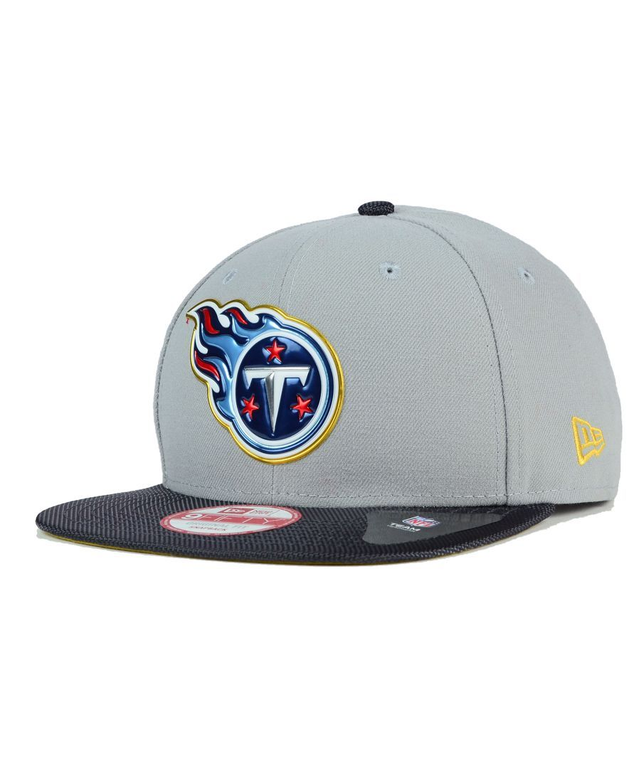 New Era Tennessee Titans Gold Collection 9FIFTY Snapback Cap