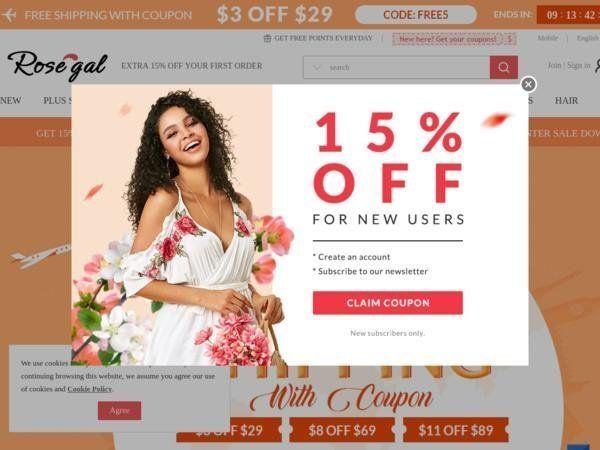 Rosegal Coupon Codes | Extra 40% off Selected items and ...