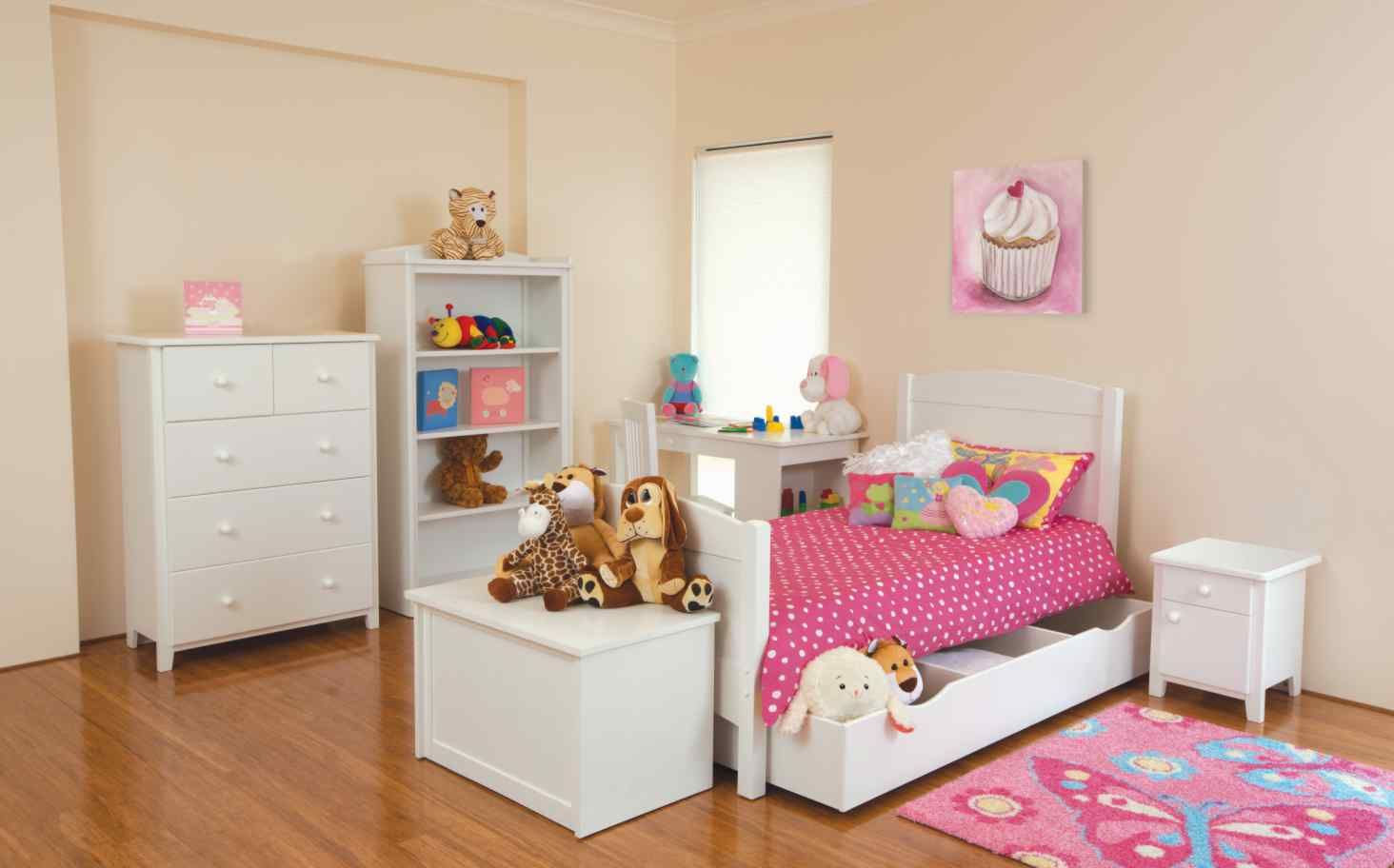 Girl toddler bed furniture - Toddler Bedroom Furniture