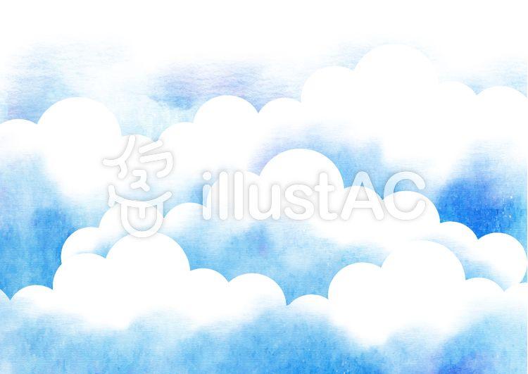 無料素材夏 雲 空 に使えるかもしれない背景素材49 フリー素材