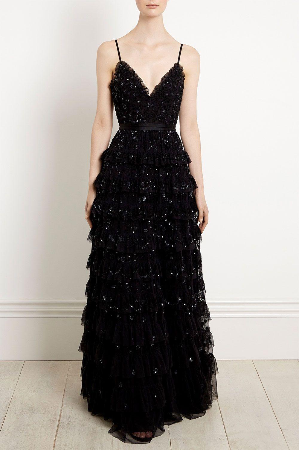 fabulous black wedding dresses for nontraditional brides