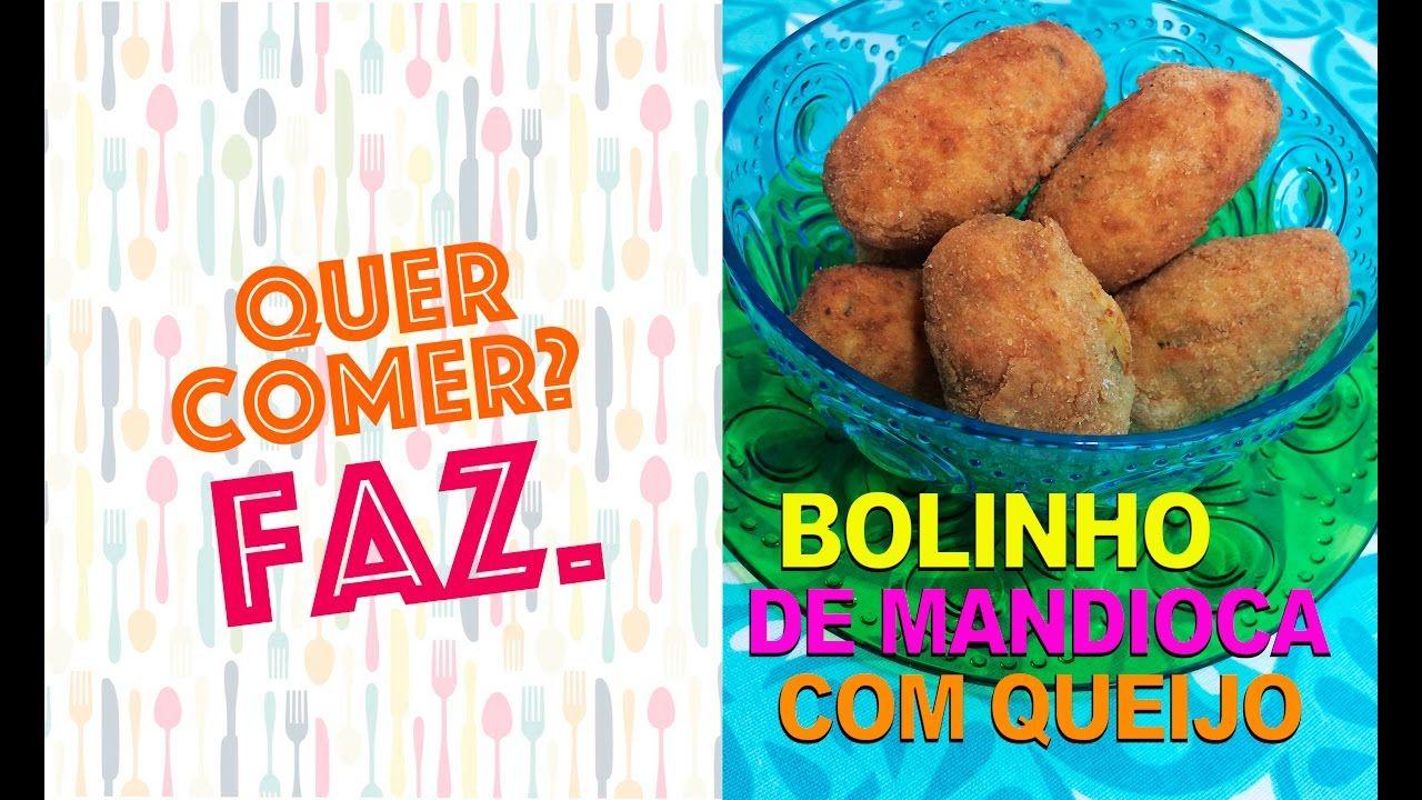 COMO FAZER BOLINHO DE MANDIOCA COM QUEIJO - Quer comer? Faz. #11