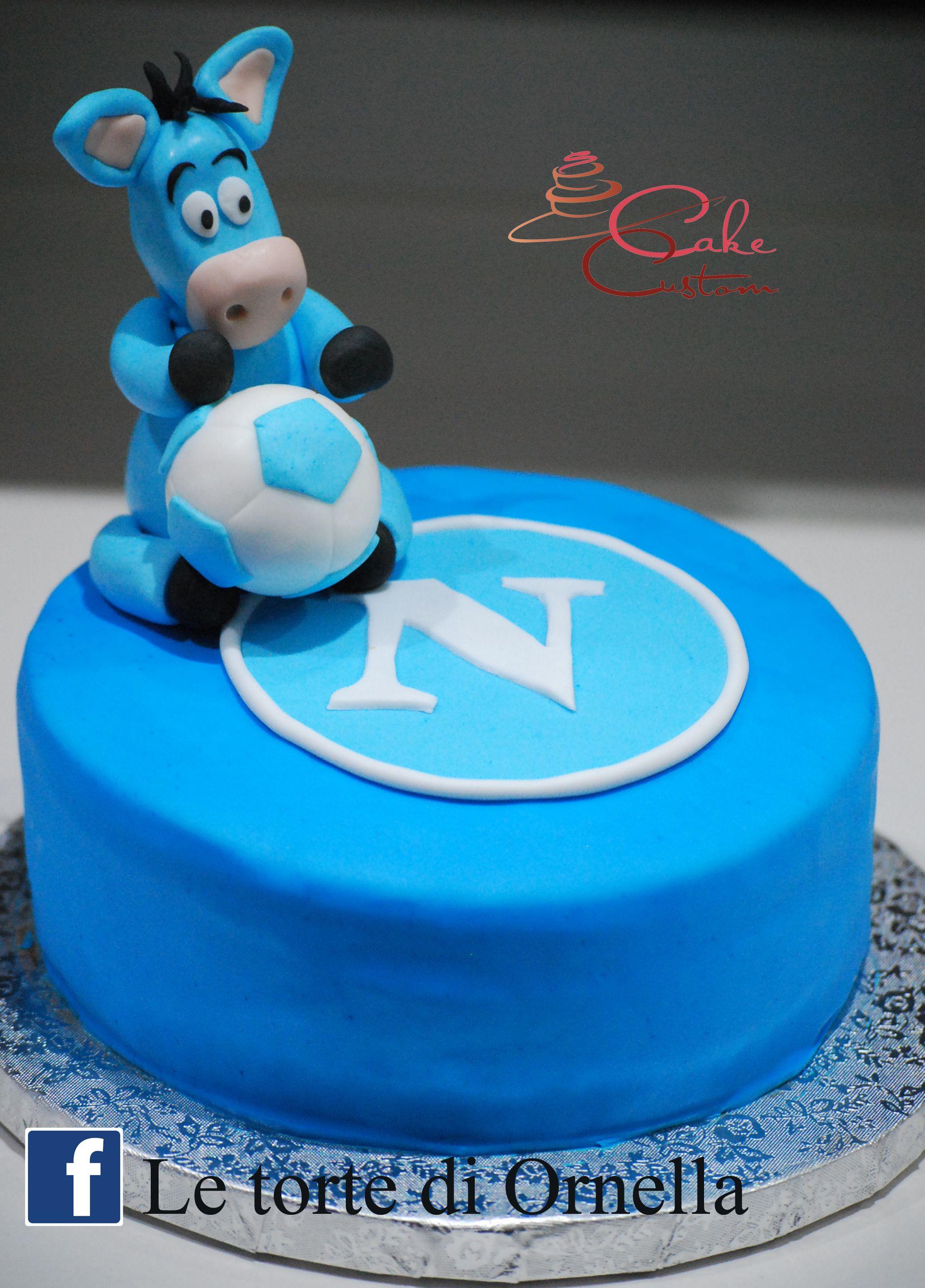 forza napoli torta forza napoli calcio torta Pinterest ...