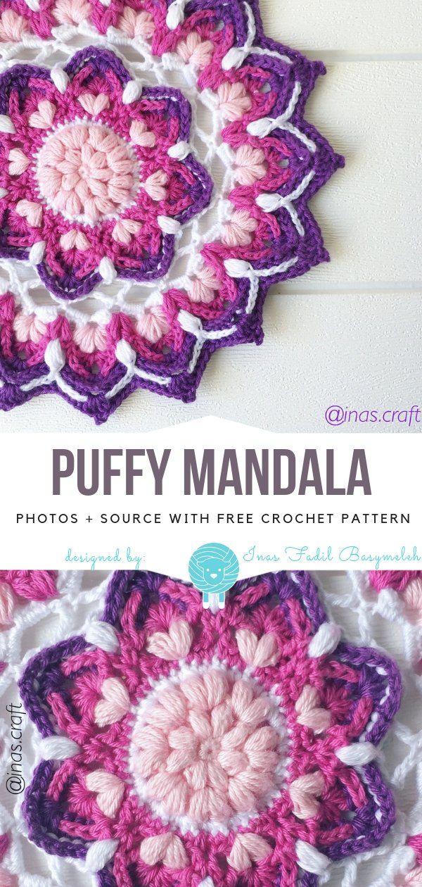 Beautiful Mandala CALs Free Crochet Patterns