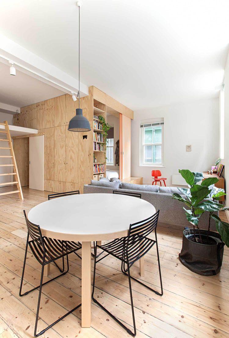 Flinders Lane E Efficient Apartment Living Area