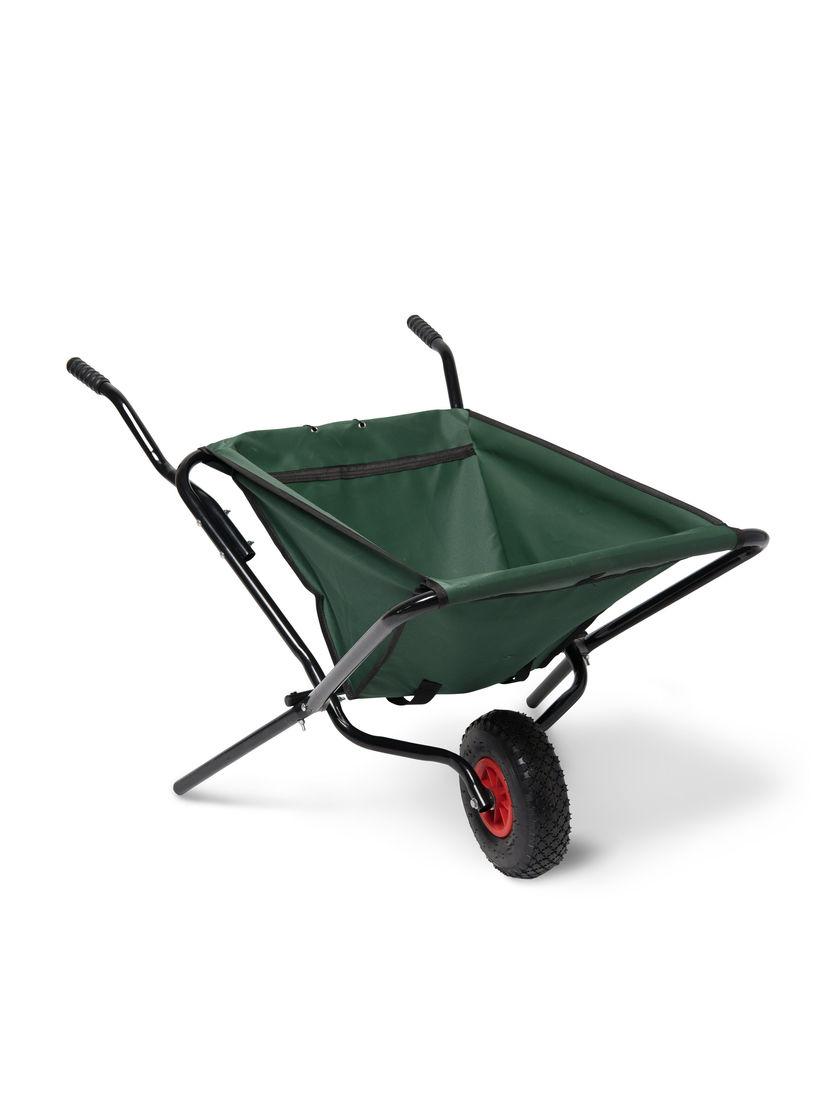 Foldable Wheelbarrow Folding Garden Wheelbarrow Gardeners Com Wheelbarrow Wheelbarrow Garden Foldables