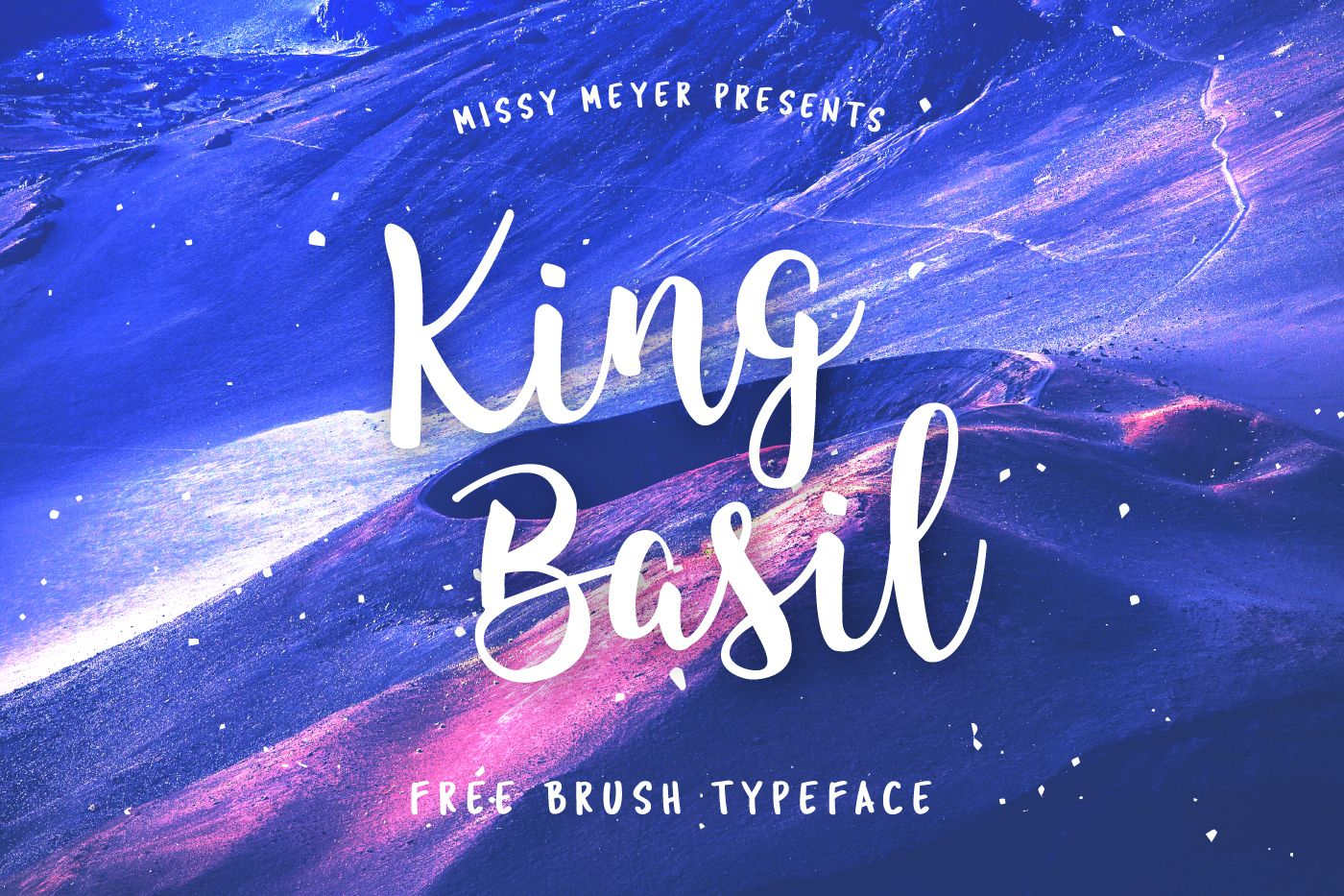King Basil Free Brush Font For Personal And Commercial Use