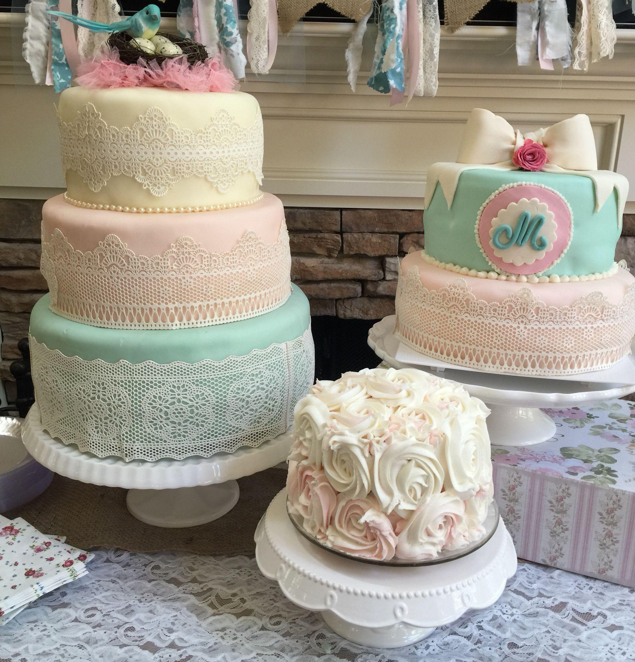 Fabulous Shabby Chic First Birthday Cakes Girl Birthday Themes Birthday Personalised Birthday Cards Vishlily Jamesorg