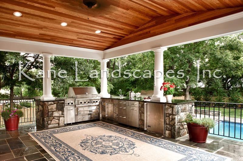 Outdoor Kitchen Pavilion Designs Ideas 23