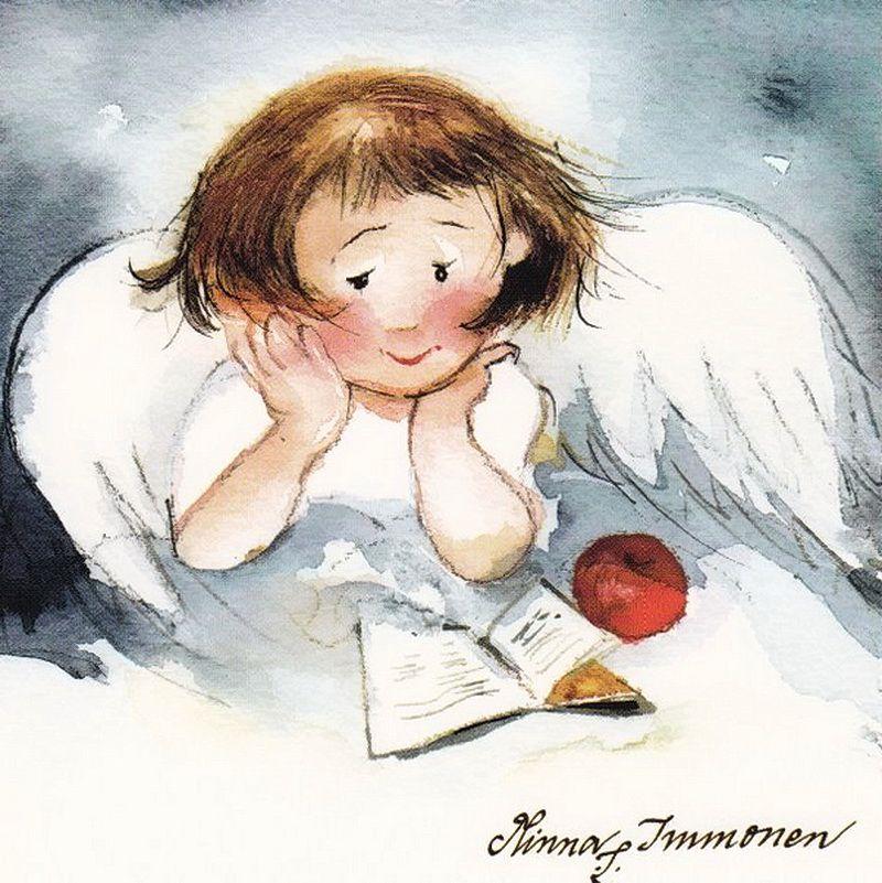 Картинки ангел с книгой