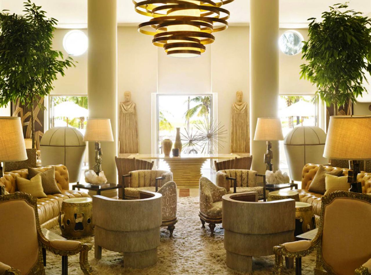yellow and showy lobby ideas | hotels | inspirations | design