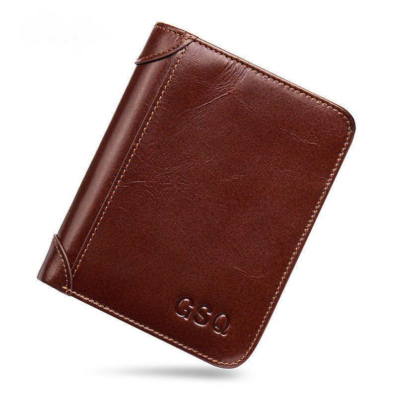 High Quality Genuine Leather Luxury Wallet Cuzdan