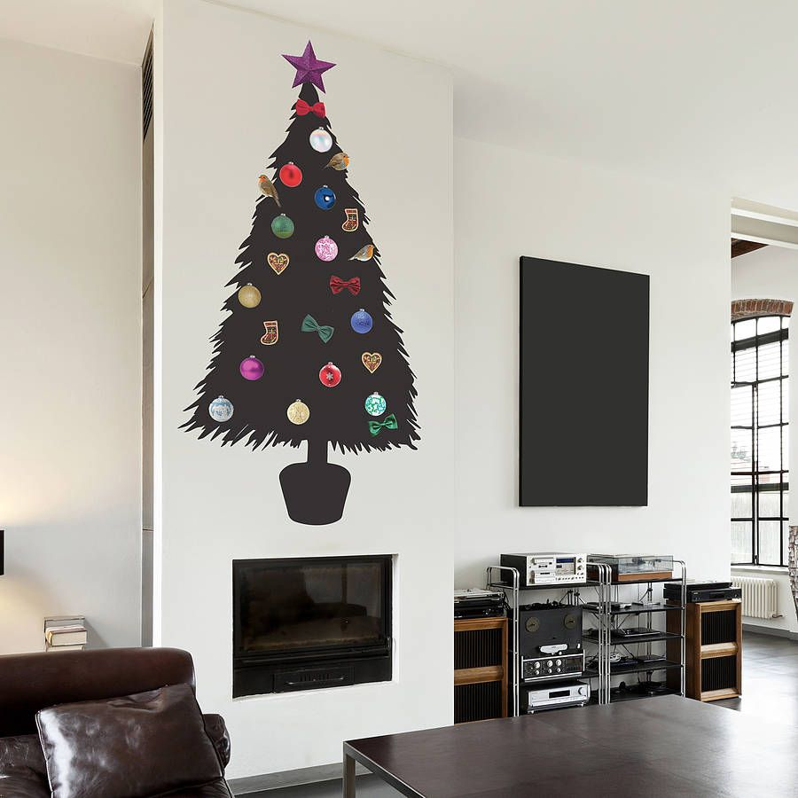 DIY Christmas Tree Wall Sticker Part 66