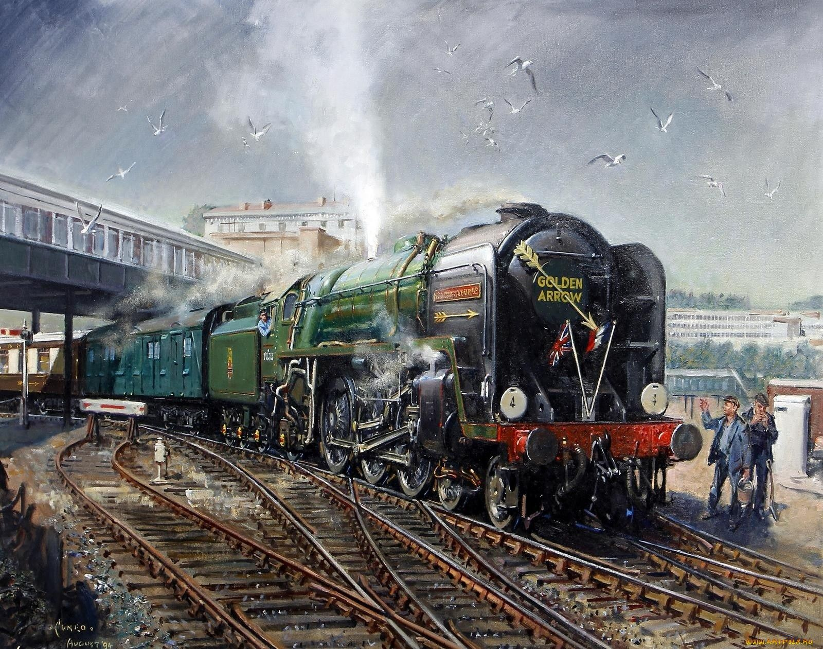 Railway Art Terence Cuneo Trains Train Steam