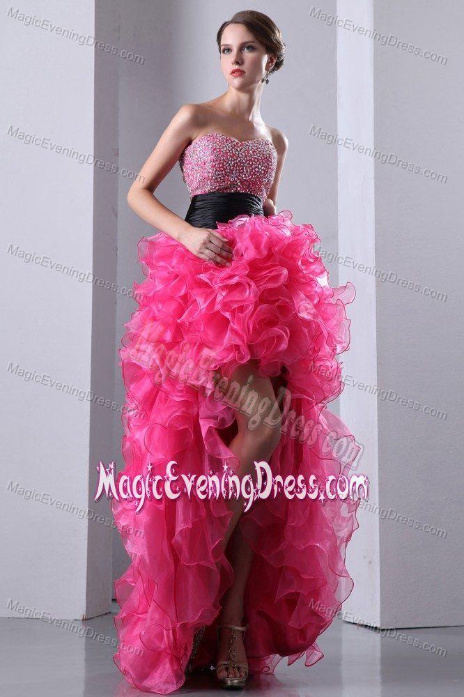 Glitz High Low Prom Dresses