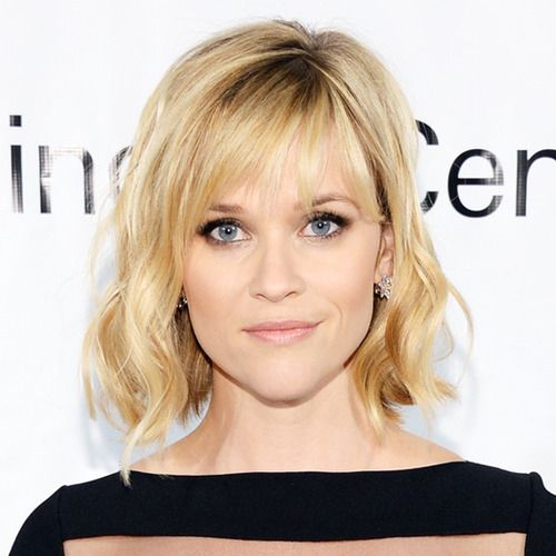 Wispy Bangs Like Reese Has Here Are Low Maintenance And Their Brow