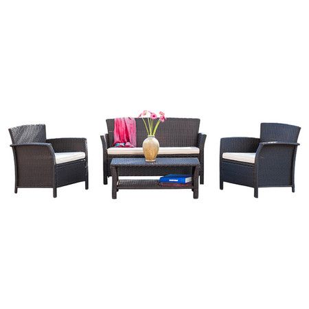 Found It At Wayfair 4 Piece Cairn Patio Seating Group Http Www