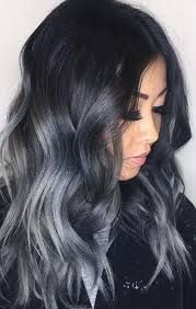 Image Result For Hair Colour Dark Skin Gray